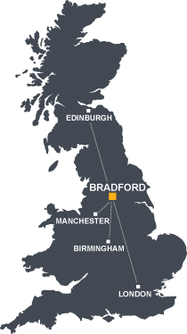 Campus maps University of Bradford