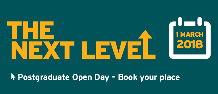 PG Open day - book your place banner.
