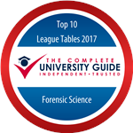 Forensic Science - Complete University Guide 2017