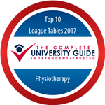 Physiotherapy - Complete University Guide 2017