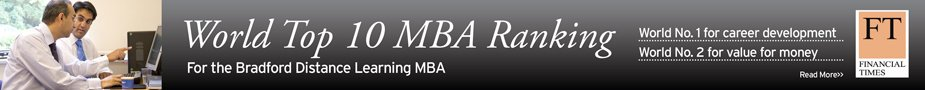 Financial Times Top 10 World Ranking Online MBA