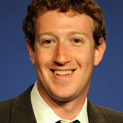 A portrait image of Mark Zuckerberg