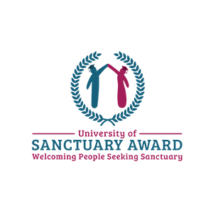 Logo for the university of sanctuary