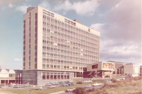 A picture of the Richmond Building taken in 1966