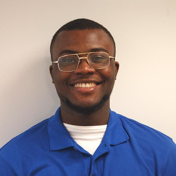A profile picture of Adedayo Adedeji, placement student