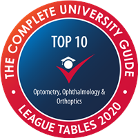 Complete University Guide 2019 Top 10 Optometry