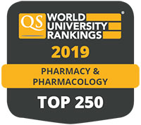 World University Rankings 2019 Top 250 for Pharmacy and Pharmacology