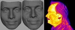 digital images of a 3d face