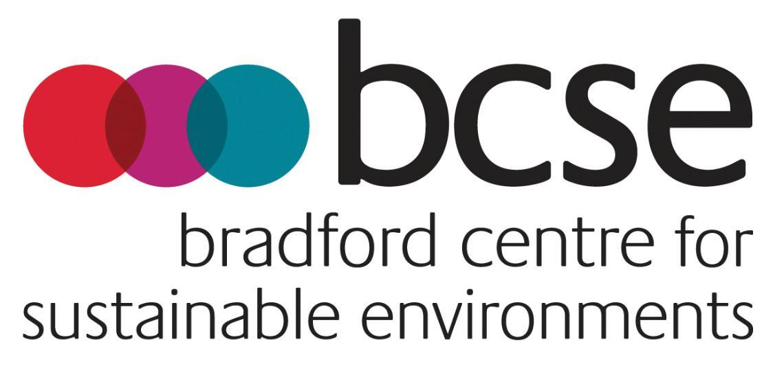 Bradford Centre for Sustainable Environments logo