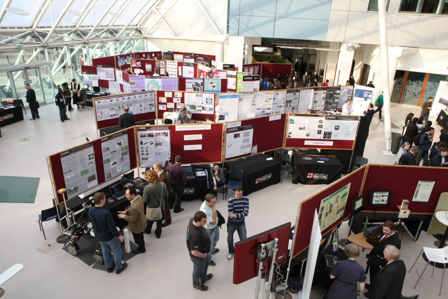 4th Annual Innovative Engineering Research Conference (AIERC) 2021 in the Richmond Atrium building