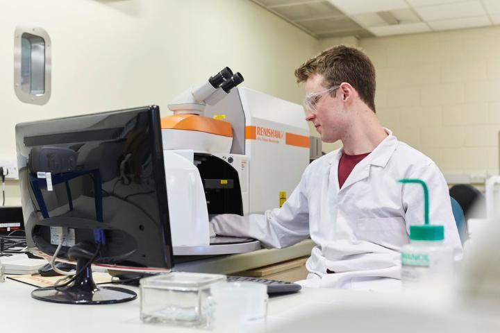Chemistry Facilities Raman Arran Stewart 2018