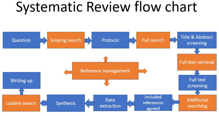 Systematic reviews flowchart