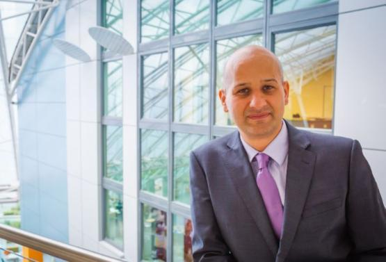 University of Bradford Po-Vice Chancellor and newly appointed chair of the Bradford Economic Recovery Board Professor Zahir Irani