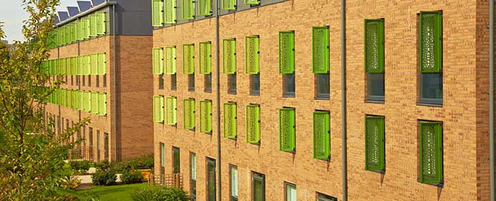An image of student accommodation at The Green