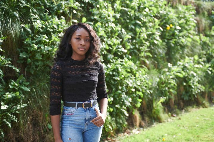 A picture of University of Bradford student, Poshia Boateng.