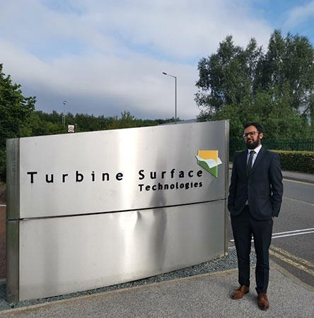 Umair Aurangzeb, BEng Chemical Engineering and MSc Advanced Chemical and Petroleum Engineering graduate